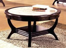 round stone top coffee table round stone top coffee table rs fl design stone top coffee