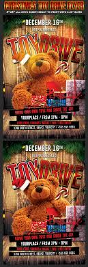 christmas toy drive flyer template by hotpin graphicriver christmas toy drive flyer template holidays events