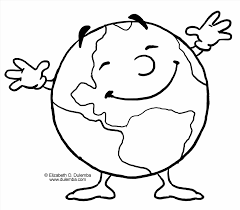 Small Picture Coloring Page For Kids Pages Happy On Happy Earth Coloring Pages