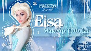 elsa makeup tutorial disney s frozen cosplay transformation you