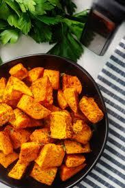 roasted sweet potatoes in air fryer