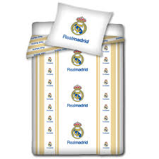 official real madrid single amp double duvet covers football