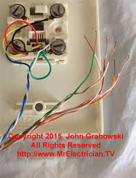 telephone wire color code tip and ring chart blue pair twisted telephone wires connected to the telephone jack