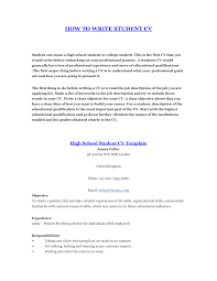 How To Write A Student Resume how to write a resume for student Enderrealtyparkco 1