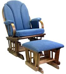 rocking glider chair with ottoman glider rocker and ottoman corduroy blue graco avalon glider rocking chair
