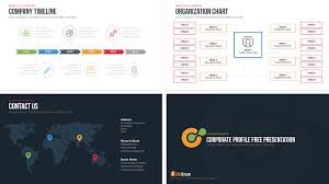 Free Profile Templates Company Profile Free PowerPoint Template SlideBazaar 3