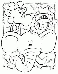 Animaux Sauvages De La Jungle 99 Animaux Coloriages Imprimer