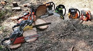 chain saws. chain saws