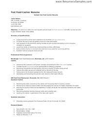 Restaurant Cashier Resume Sample Resume For Cashier In Restaurant