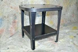 tall metal side table tall white end table end metal table tall end frame espresso black tall metal side table