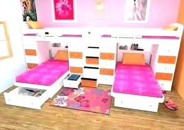 Kids Twin Bed Frame Frames Kid Set Girls Decorating Ideas For Small ...