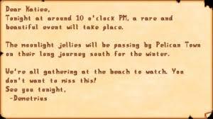 Dance <b>of the Moonlight</b> Jellies - Stardew Valley Wiki