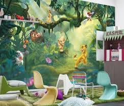 lion king wall mural photo wallpaper