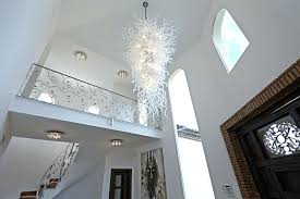 full size of modern foyer lighting ideas double organza chandelier chrome 5 lt contemporary crystal foyer