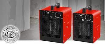 TDS-C serisi seramik fanlı ısıtıcı - TROTEC