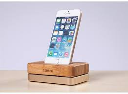 10pcs magnetic wood phone charger station samdi wood bamboo aluminum desk mobile phone stands for iphone dhl