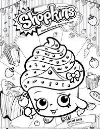 Shopkins Coloring Pages Ice Cream Coloring Book Fun Acessorizame