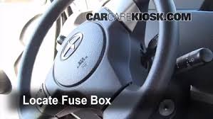 interior fuse box location 2008 2015 scion xb 2010 scion xb 2 4 interior fuse box location 2008 2015 scion xb 2010 scion xb 2 4l 4 cyl