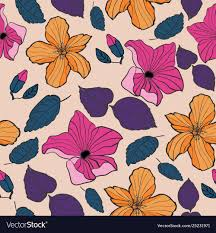 Designing Repeat Patterns For Textiles Tropical Textile Floral Repeat Print Pattern In