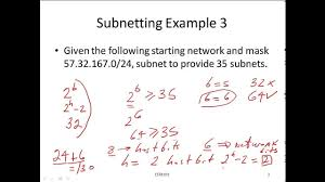 Subnetting By Example 3 Calculate The Network Id For Specified Subnet