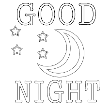 good night colouring pages goodnight moon coloring pages