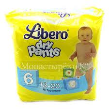 Купить <b>Подгузники</b>-<b>трусики Либеро</b> (<b>Libero</b>) Драй Пэнтс по ...
