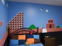 Mario Bros Bedroom Decor Father Hand Paints Super Mario Bros Mural In Sons Bedroom Curbed