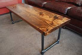 Coffee Table, Outstanding Teak Rectangle Ancient Wood Coffee Table Legs  Metal Design To Decorating Living ...