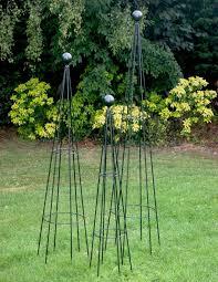 metal garden obelisk quality hampton