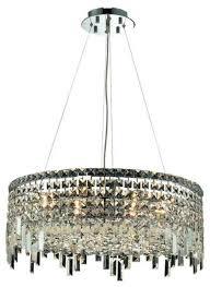 chantal 12 light 24 crystal chandelier chrome heirloom grandcut