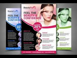 How To Design A Flyer Beauty Care Flyer Design