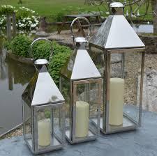 tall vase lighting garden. Tall Stainless Steel Garden Candle Lantern Vase Lighting