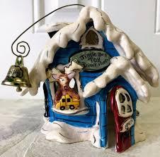 Blue Sky Tea Light Holders Details About Blue Sky Clayworks Reindeer Christmas Jingle