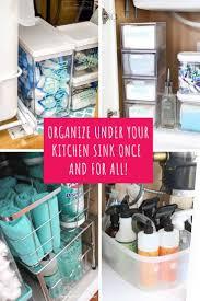 Check Out These Under Kitchen Sink Storage Hacks