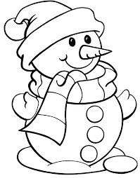 Christmas Colouring Pages Easy With Coloring Plus Best Free For