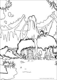 Small Picture Shrek color page Coloring pages for kids Cartoon characters
