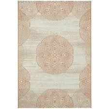 capel genevieve gorder elsinore mandala cinnamon 8 ft x 11 ft area rug 4732rs07101100825 the home depot