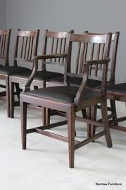 set 8 georgian style gany dining chairs gany dining table antique dining tables dining room
