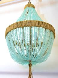 turquoise chandelier lighting. Chandelier Petite Antique White Jellyfish Circle Light Garden Make Your Own Unique Turquoise Lighting