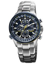 automatic automatic macy s citizen men s eco drive blue angels world chronograph a t stainless steel bracelet watch 43mm at8020