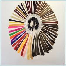 Professional Colour Ring Color Chart With 64 Colors For