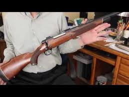 Winchester Model 70 African Express 375 H H Magnum Rifle With Scope Removed