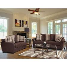 Decorating Ideas Alluring Living Room Decoration With Brown Leather