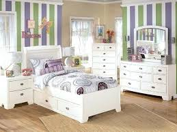 Winsome Childrens Bedroom White Furniture Solid Wood Pink And ...
