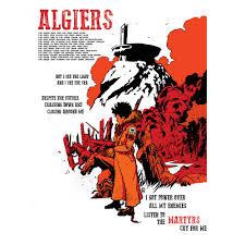 Algiers 2018 Ryan Mowry Eu Tour Poster Algiers