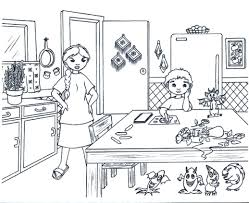 Small Picture Kitchen Utensils Drawing Easy