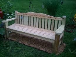 garden bench in memorial garden