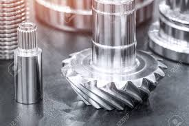 Types Of Industrial Design Many Types Of Metal Details Industrial Design Background Industrial