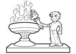 Olympic Games Coloring Sheets Fencing Games Coloring Pages Winter