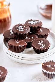 <b>salted caramel chocolate</b> cups   Tutti Dolci